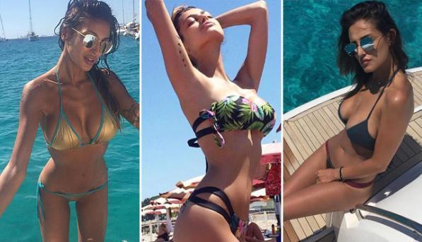 Buccino, le Kardashian italiane sexy a Formentera